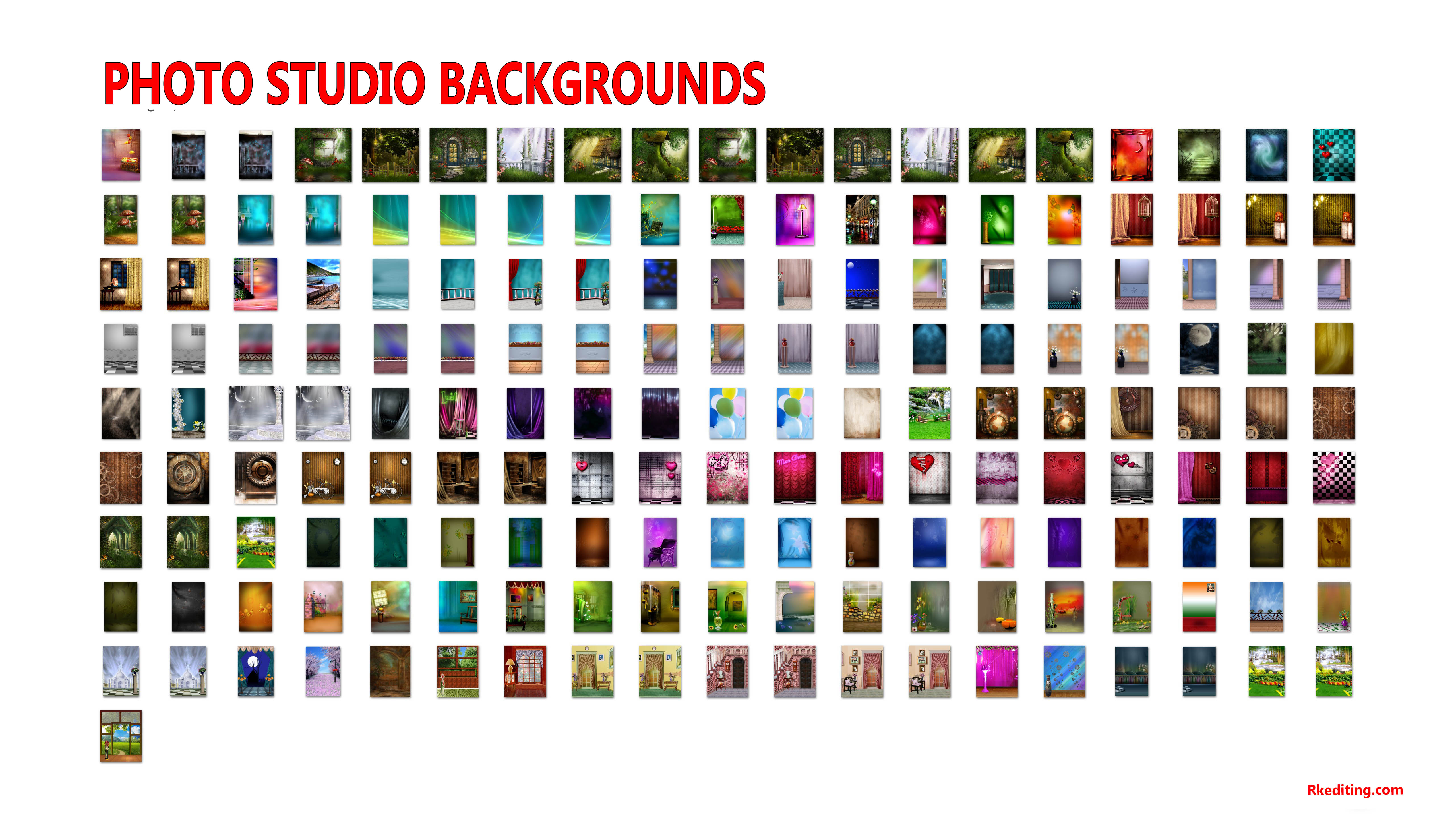 Photo Studio Backgrounds For Photoshop, New Studio Backgrounds